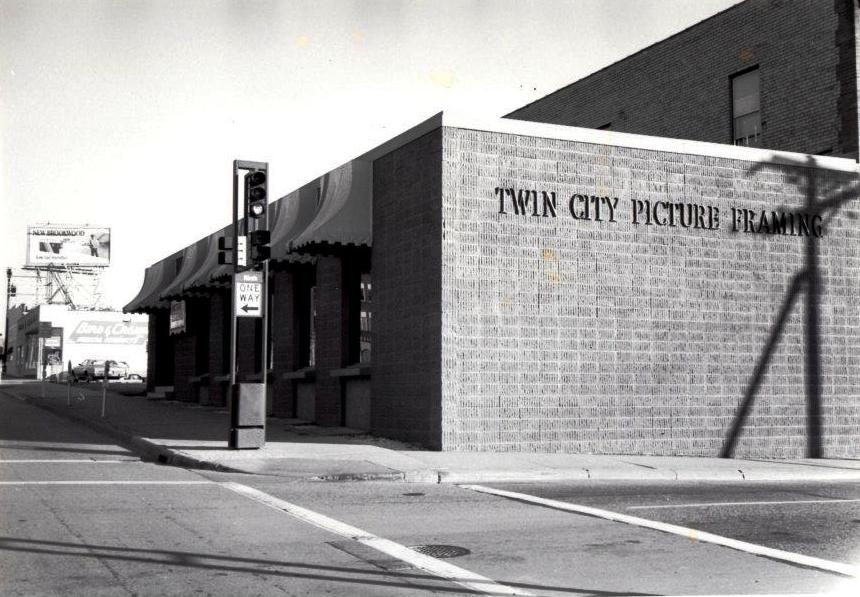 Exterior of first Twin City Picture location in St Paul, MN  1978