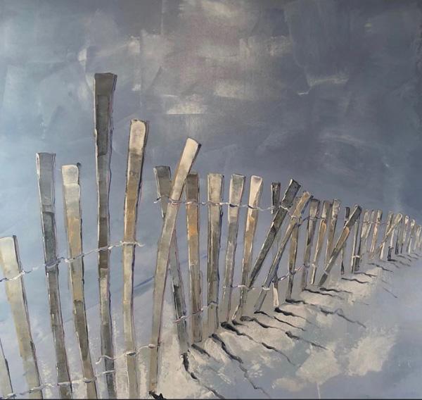 Ocean Fence II - SOLD