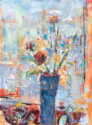 Vase of Flowers - SOLD