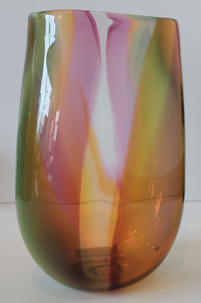 Colorful Pink Vase