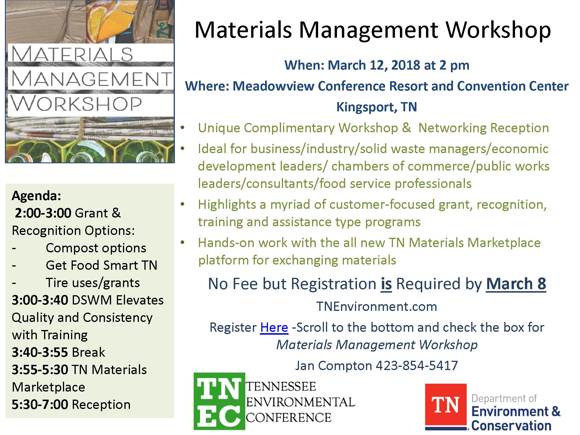 Materials Management Workshop flyer 2018_.png
