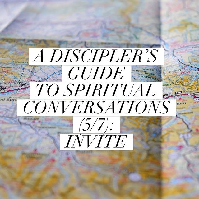 New on the blog from @beardedboyd ➡️ A Discipler's Guide to Spiritual Conversations (5/7): Invite  Link in bio