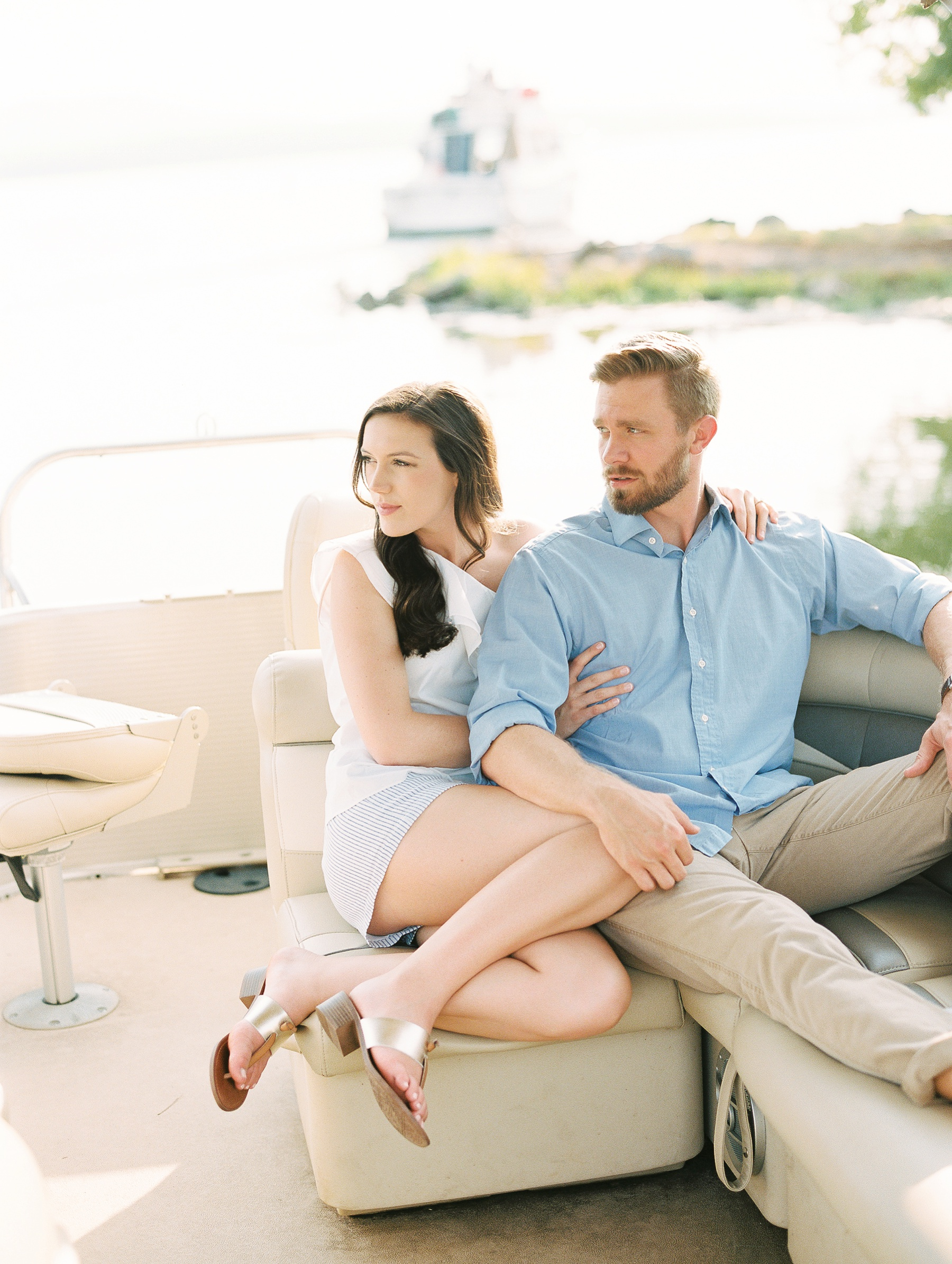 Nautical Boat Engagement Session Film Photographer_0550.jpg
