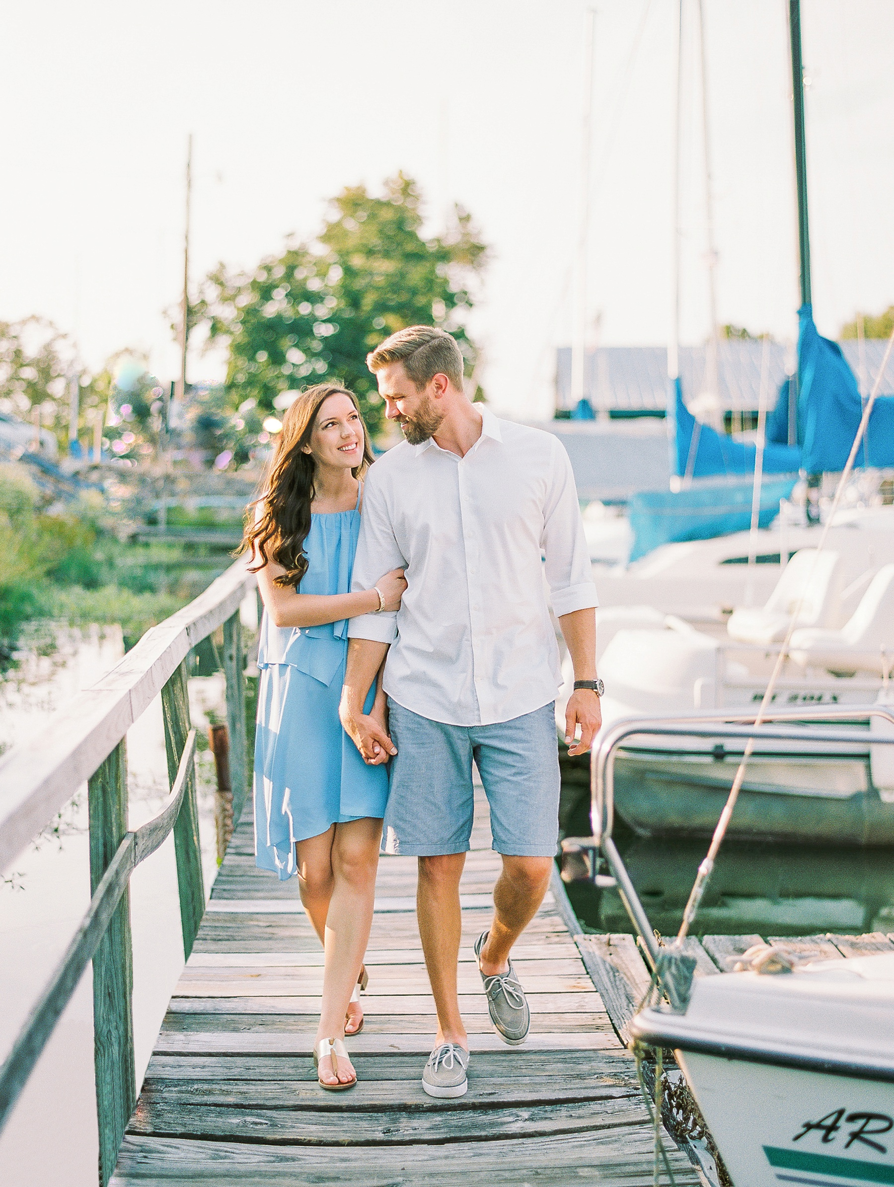 Nautical Boat Engagement Session Film Photographer_0558.jpg