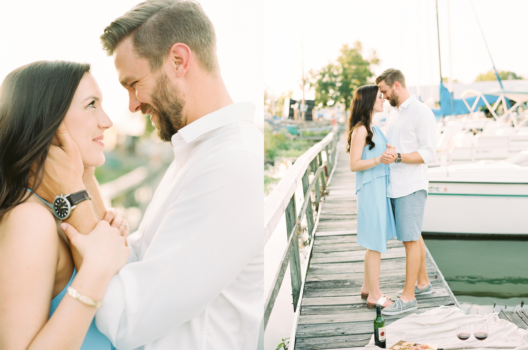 Nautical Boat Engagement Session Film Photographer_0564.jpg