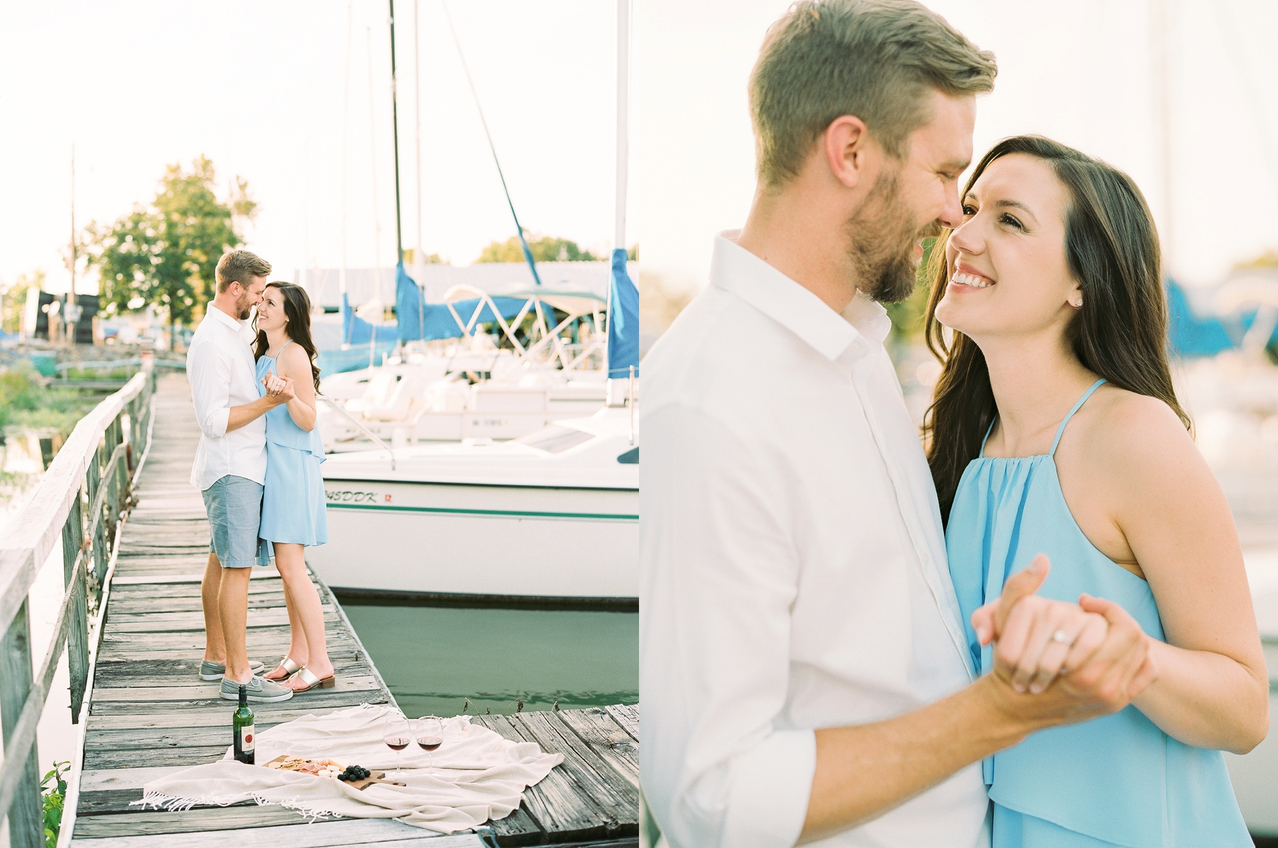 Nautical Boat Engagement Session Film Photographer_0567.jpg