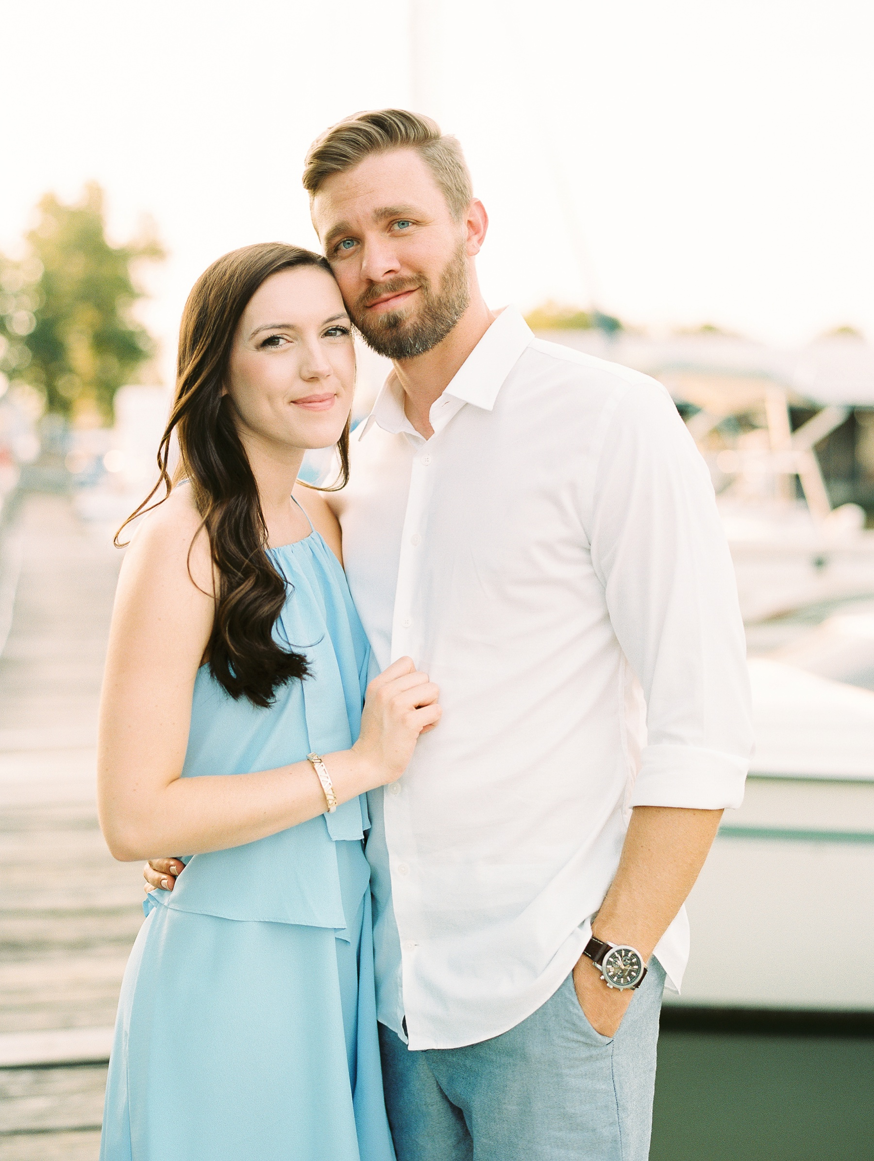 Nautical Boat Engagement Session Film Photographer_0570.jpg