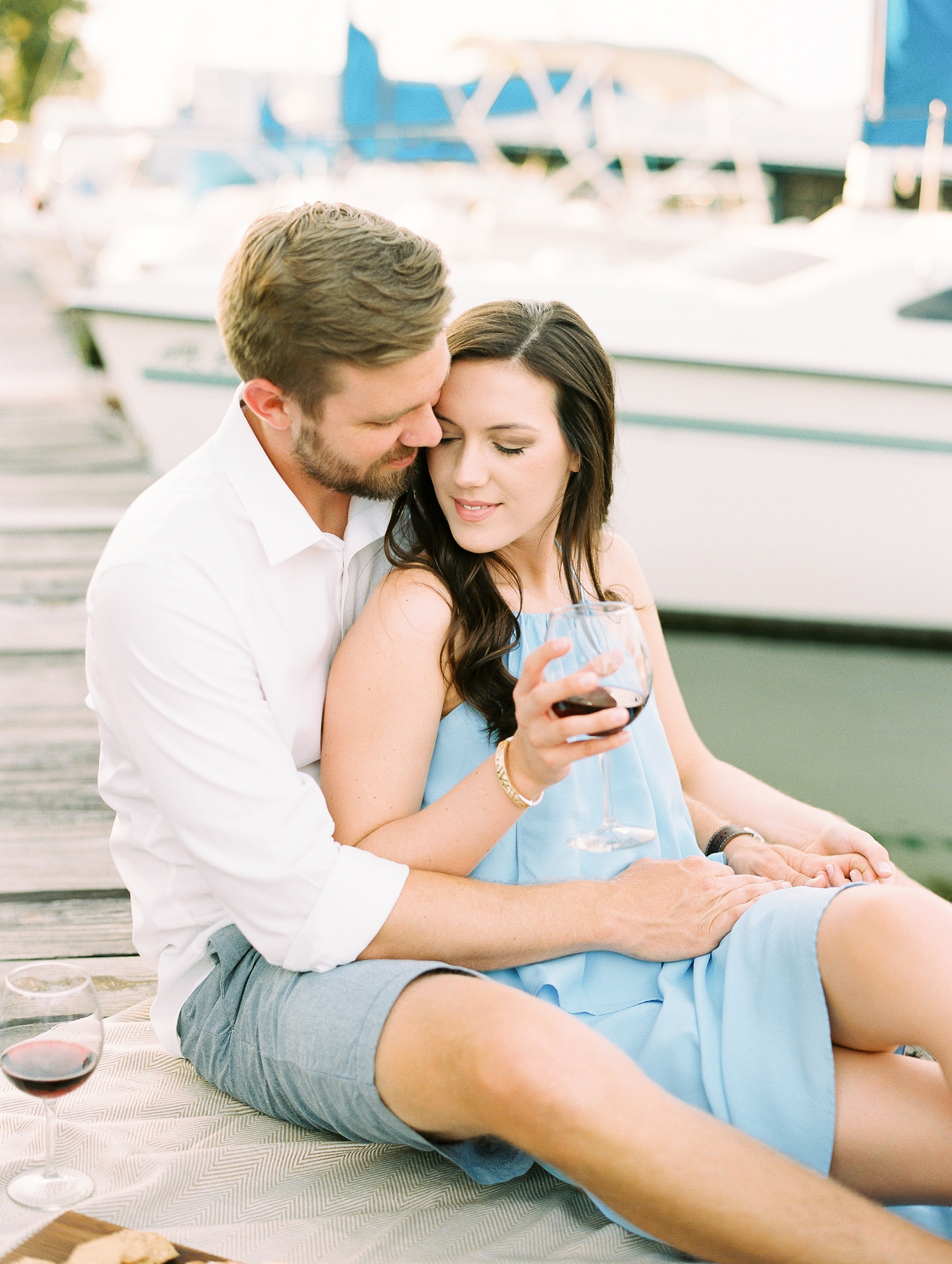 Nautical Boat Engagement Session Film Photographer_0571.jpg