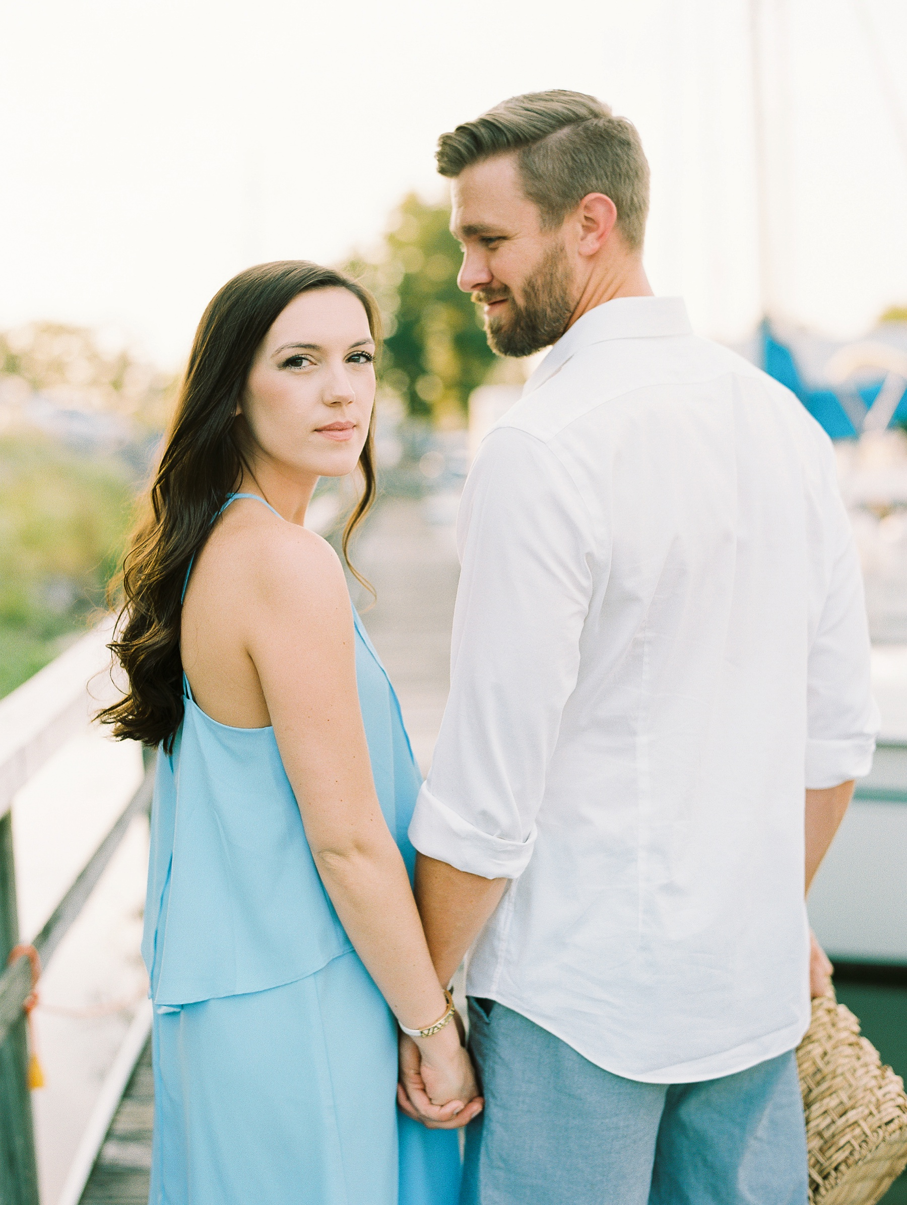 Nautical Boat Engagement Session Film Photographer_0574.jpg