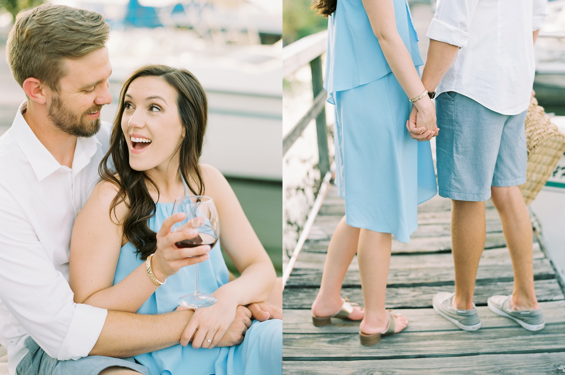 Nautical Boat Engagement Session Film Photographer_0579.jpg