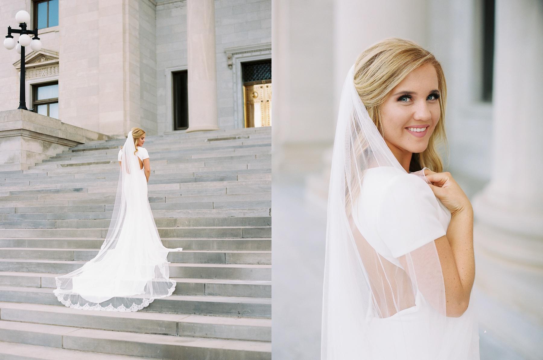 Arkansas Capitol Building Bridals Wedding Photographer_0110.jpg