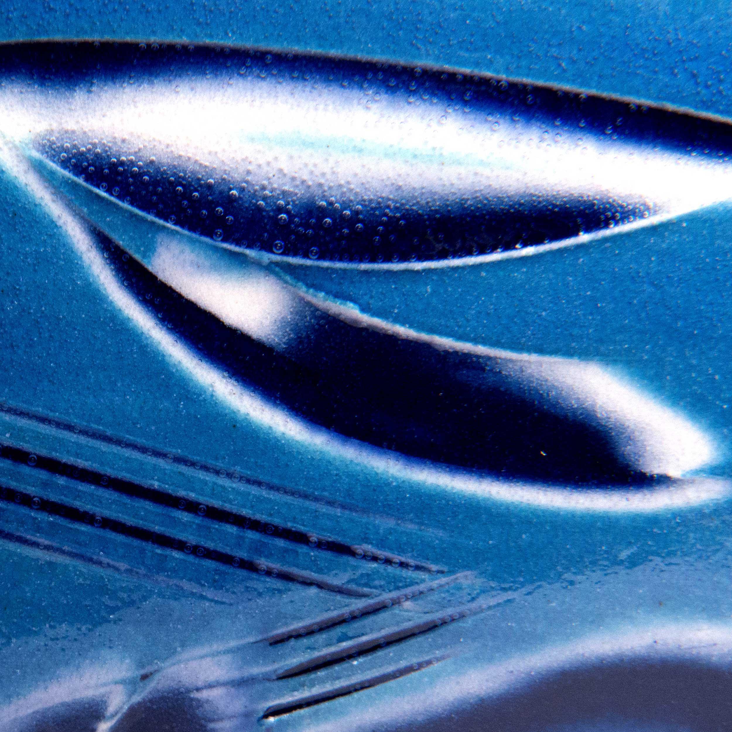 Cobalt Blue Ceramic Slipware by Rowena Gilbert