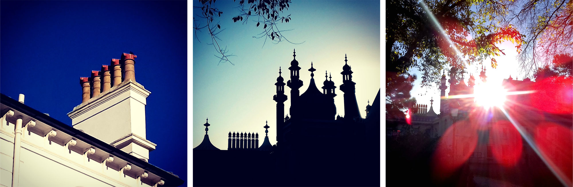 (waiting for pieces to dry in studio so went walking..)  #brighton #morning #brightonchimneys #chimneys #brightonpavilion #novembermorning #ilovebrighton #autumn #bluesky #clearsky #morningsunlight    Join me on Instagram www.instagram.com/ rowenagilbertceramics