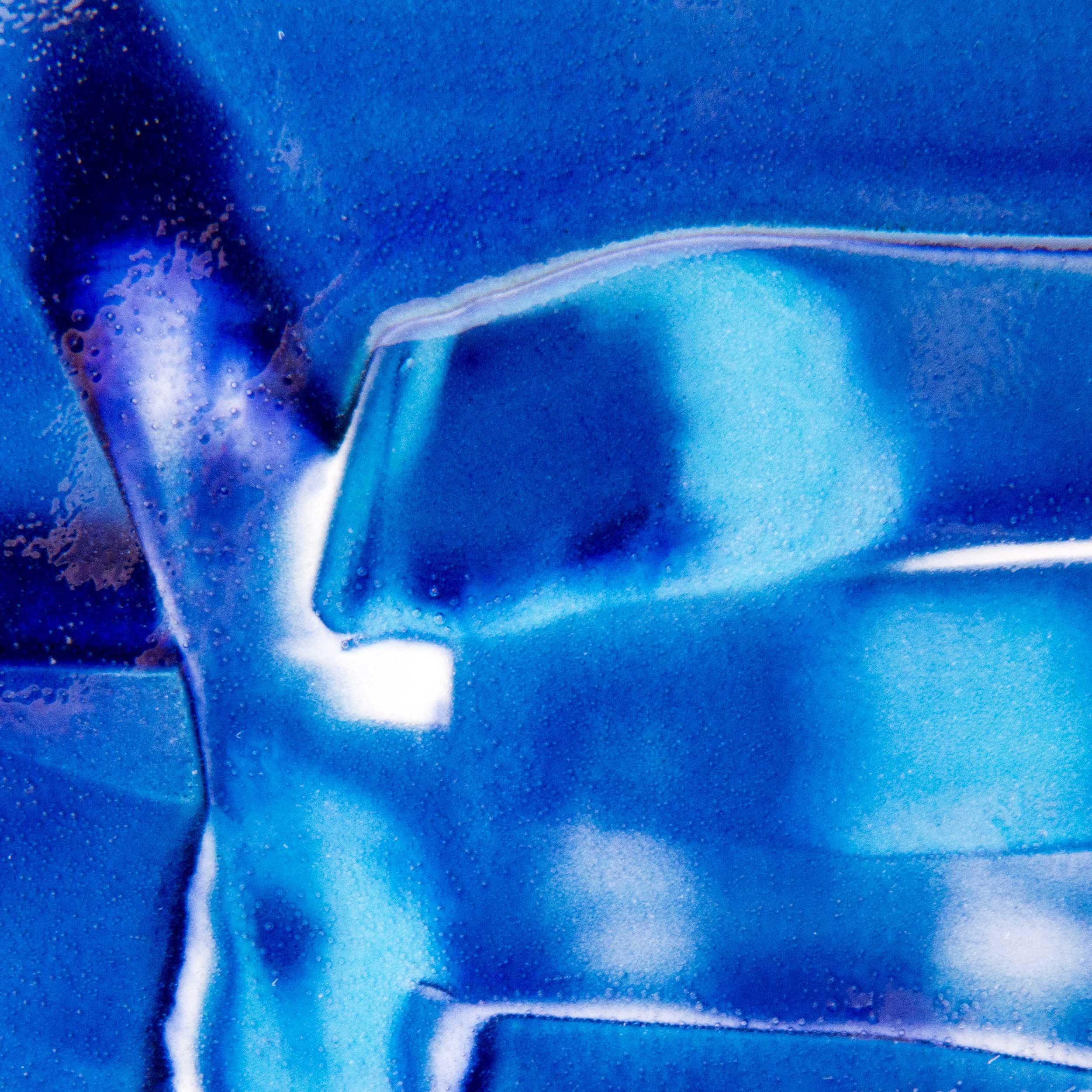 Deep Water Ceramic Glaze Effect by Rowena Gilbert