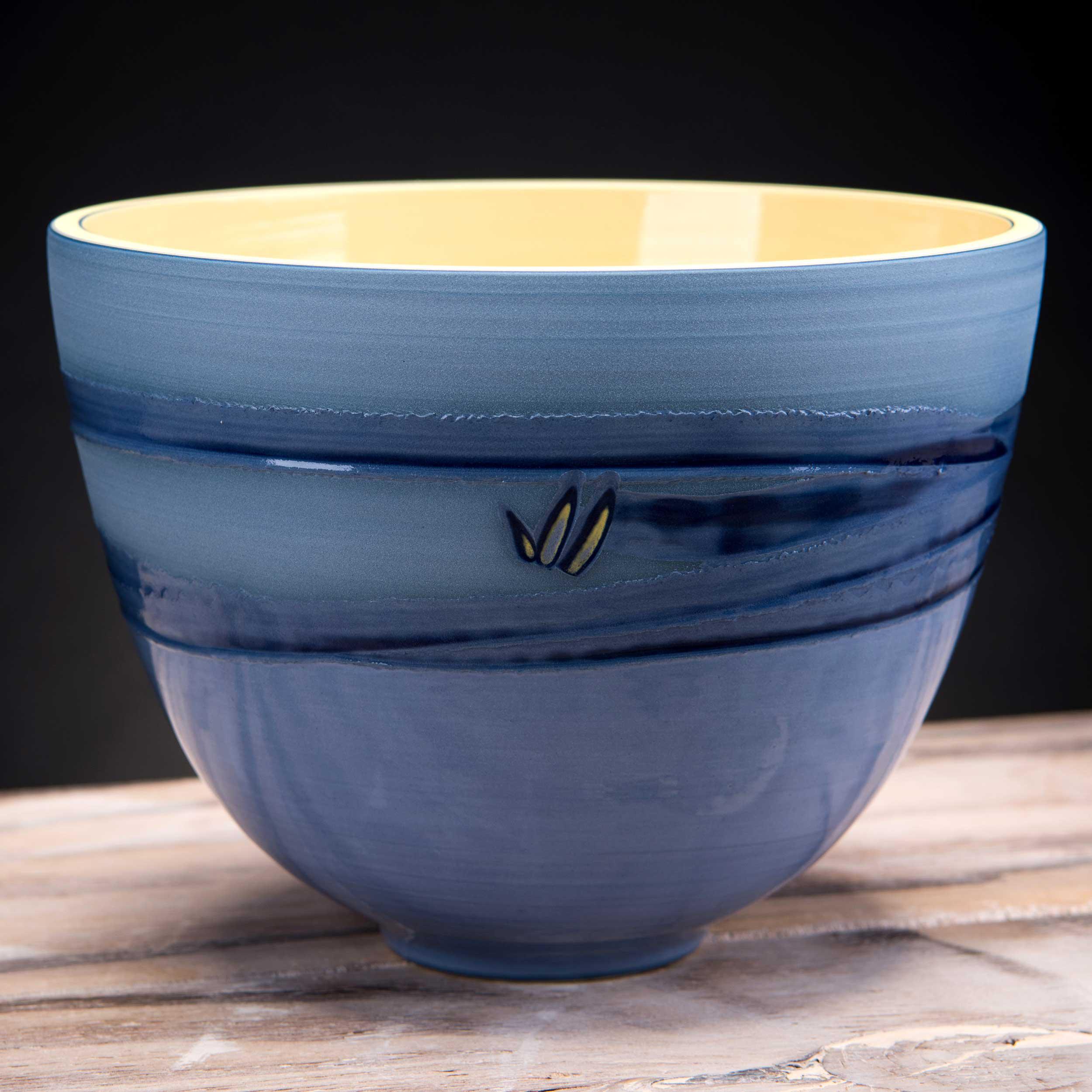 Sea Bird Ceramic Bowl Coast Series by Rowena Gilbert