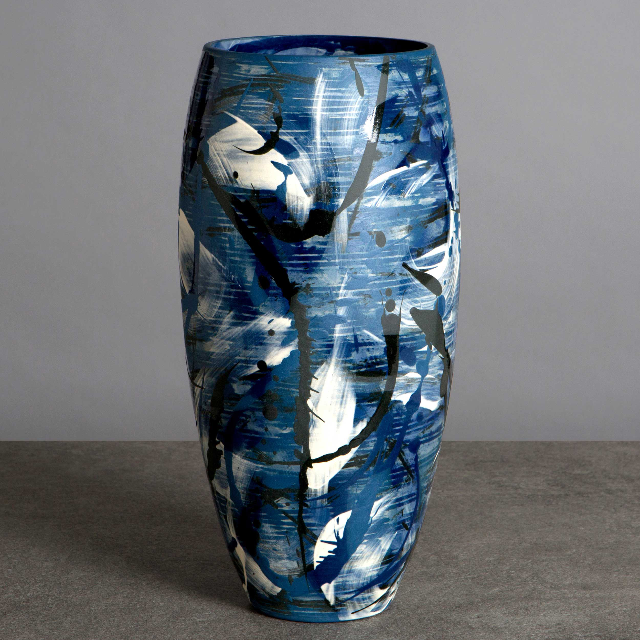 Under the Waves Vase by Rowena Gilbert