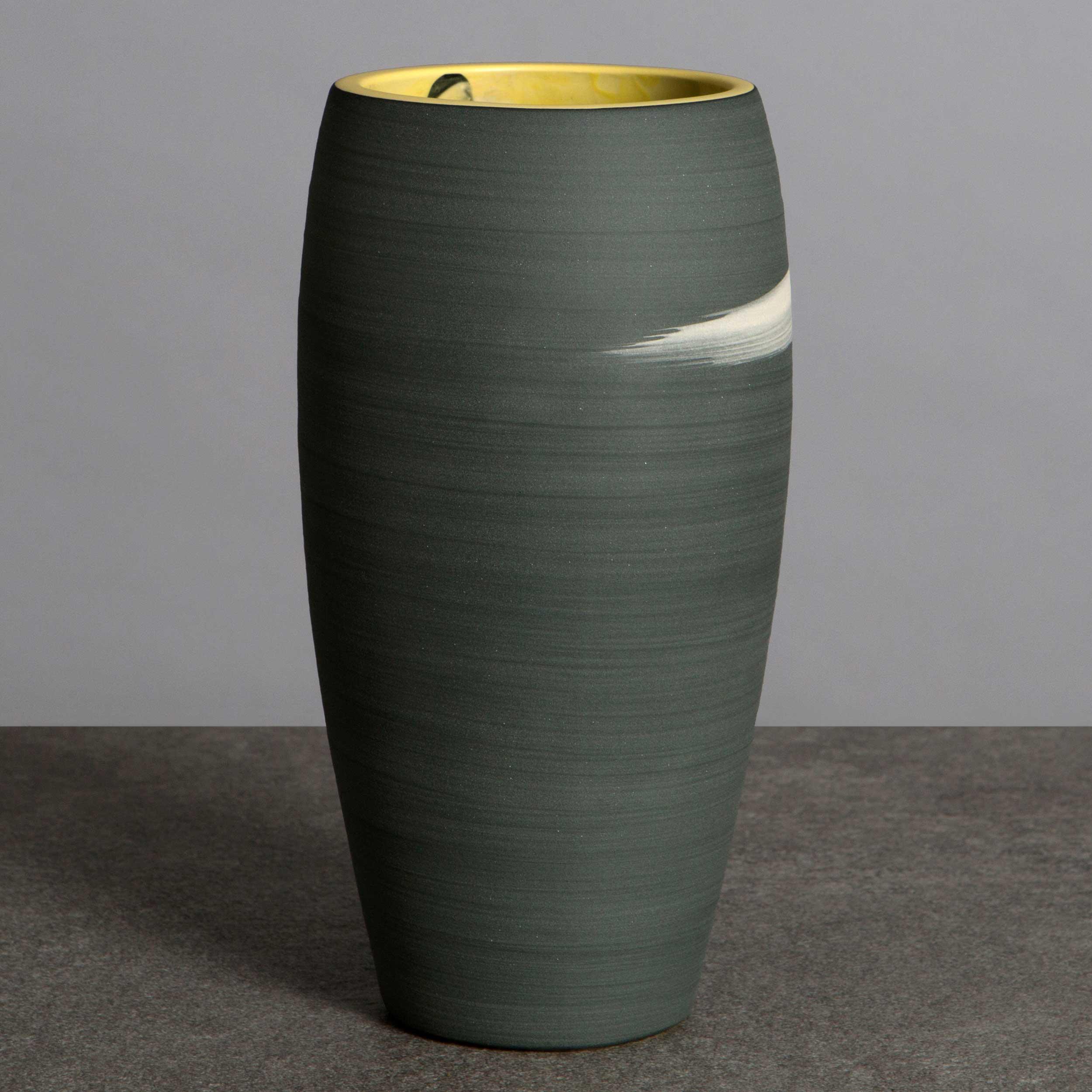 Starry Night Ceramic Vase by Rowena Gilbert