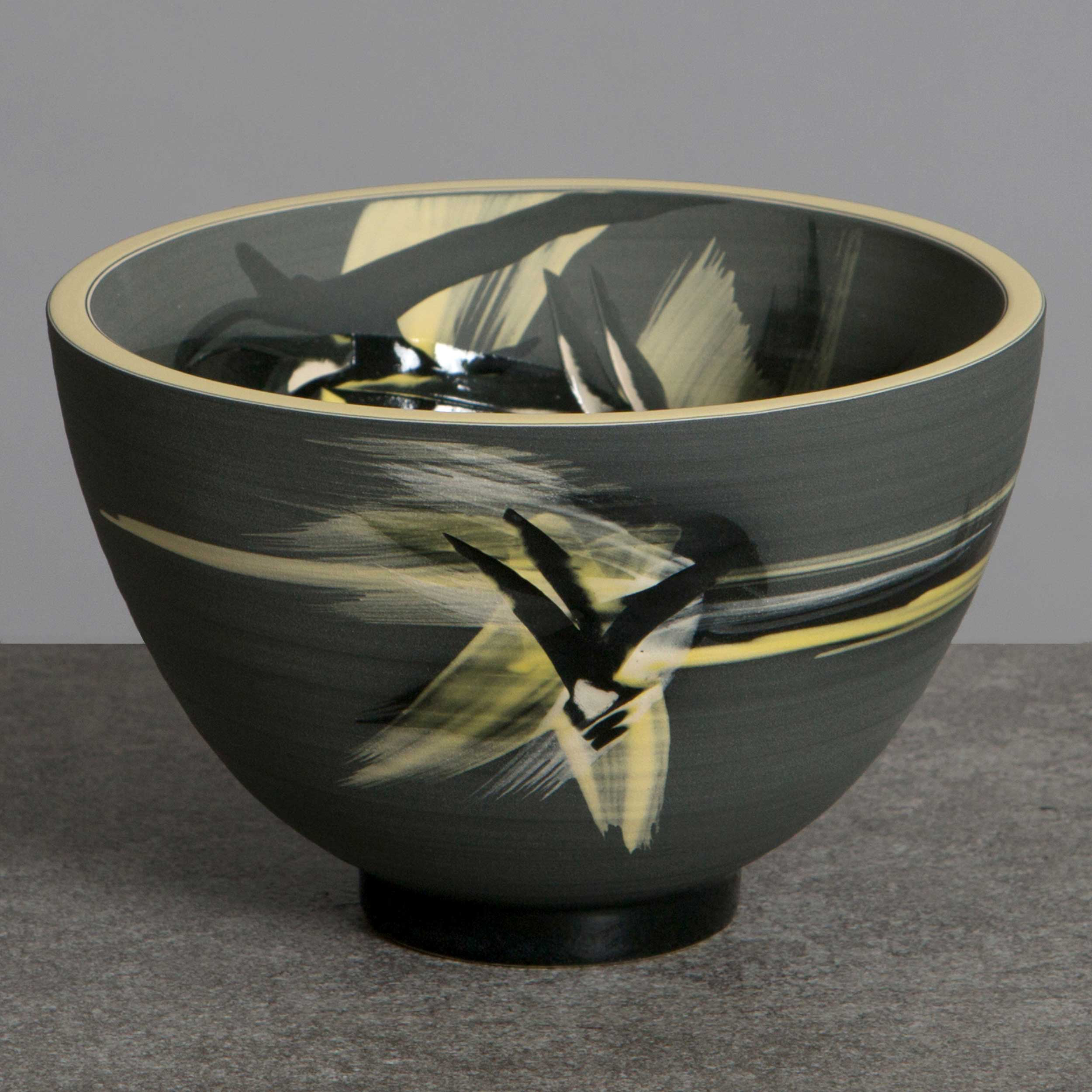 Starry Night Ceramic Bowl by Rowena Gilbert