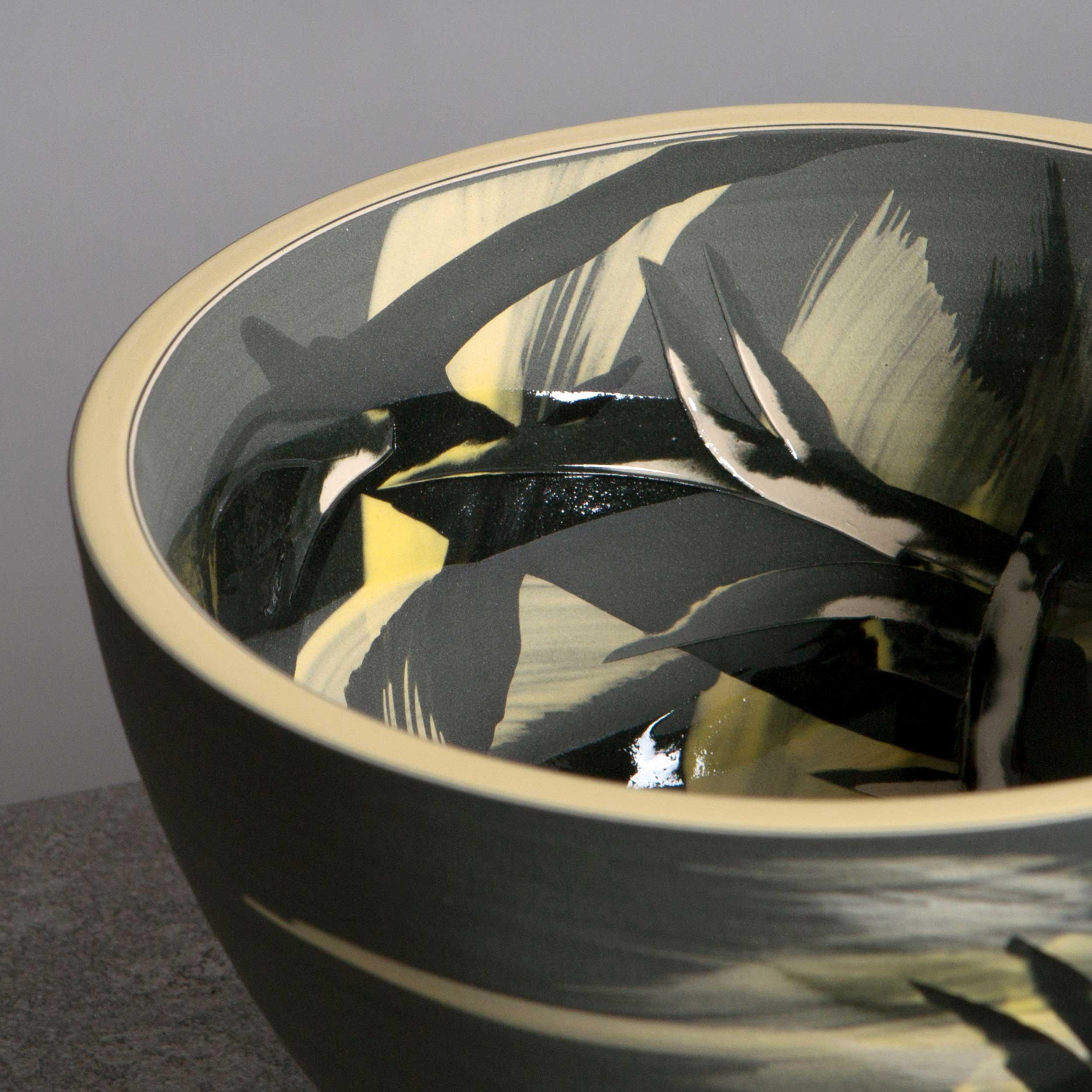 Stars Design Contemporary Ceramic Bowl by Rowena Gilbert
