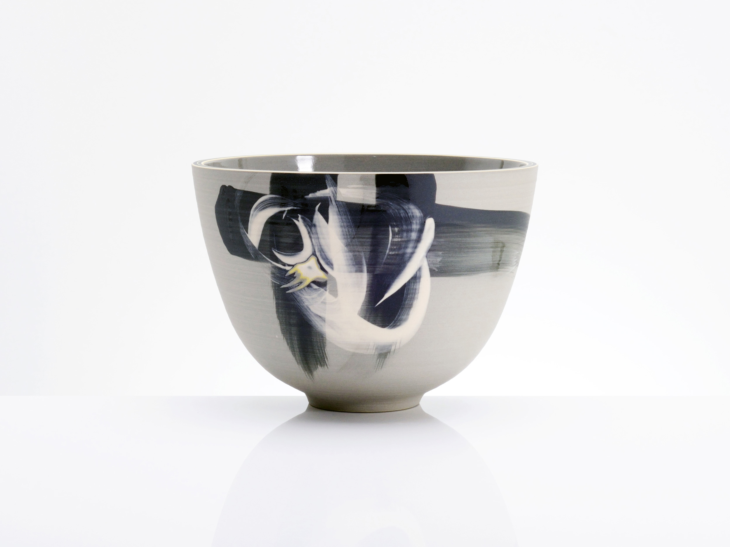 Milky Way Bowl Japanese Influence by Rowena Gilbert