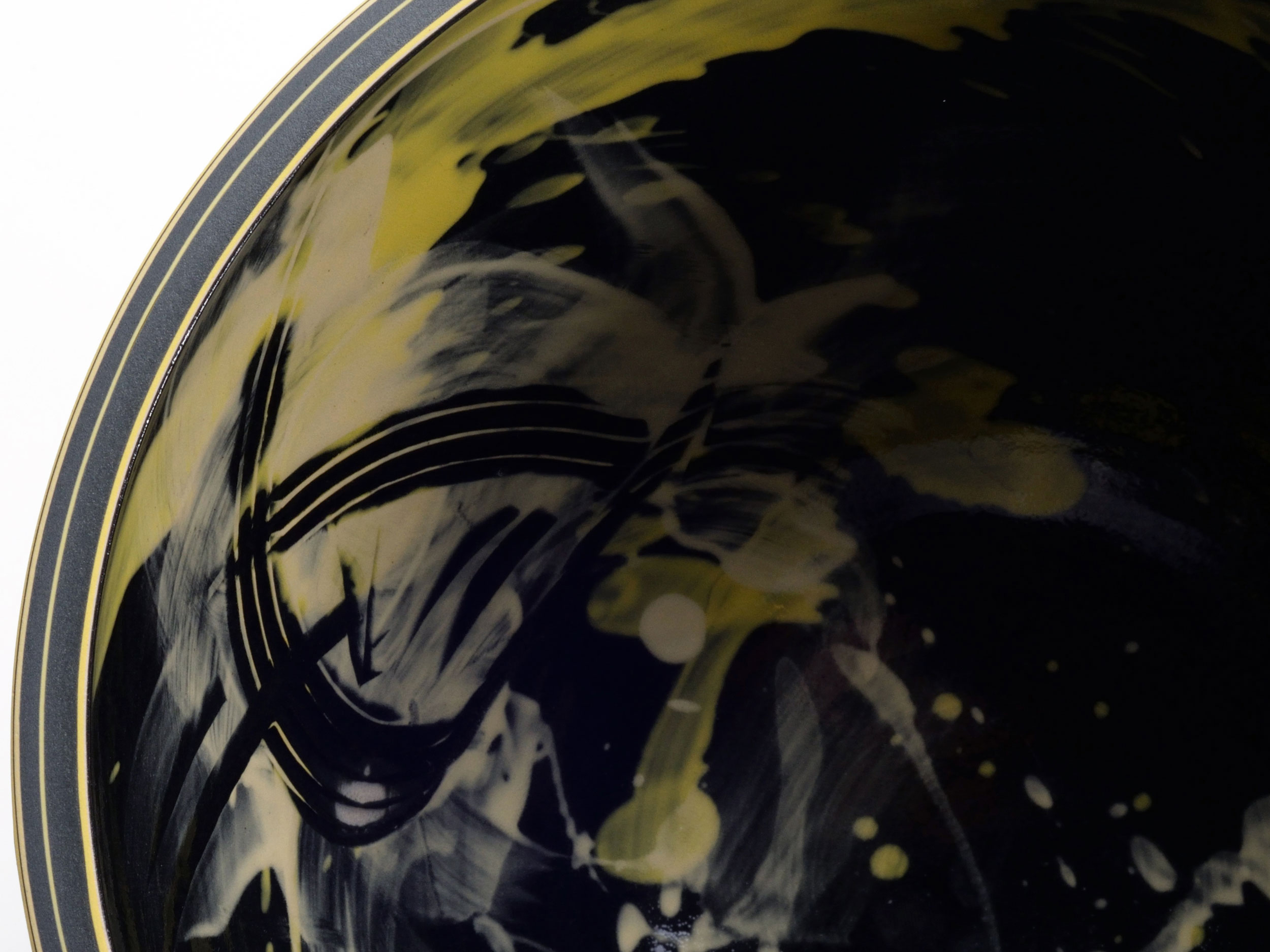 Abstract Art Ceramic Design by Rowena Gilbert