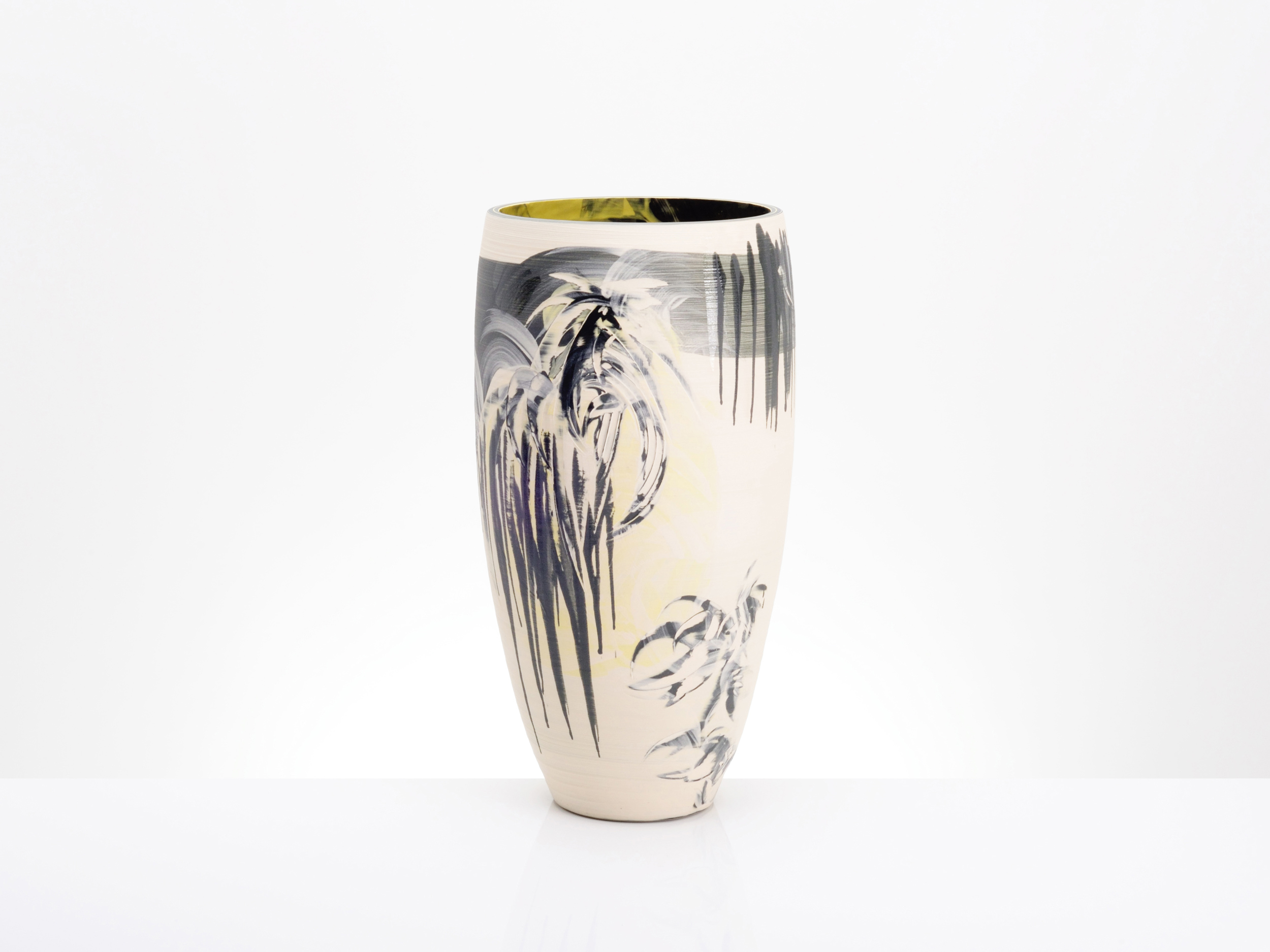 Oriental Style Star Expression Vase by Rowena Gilbert