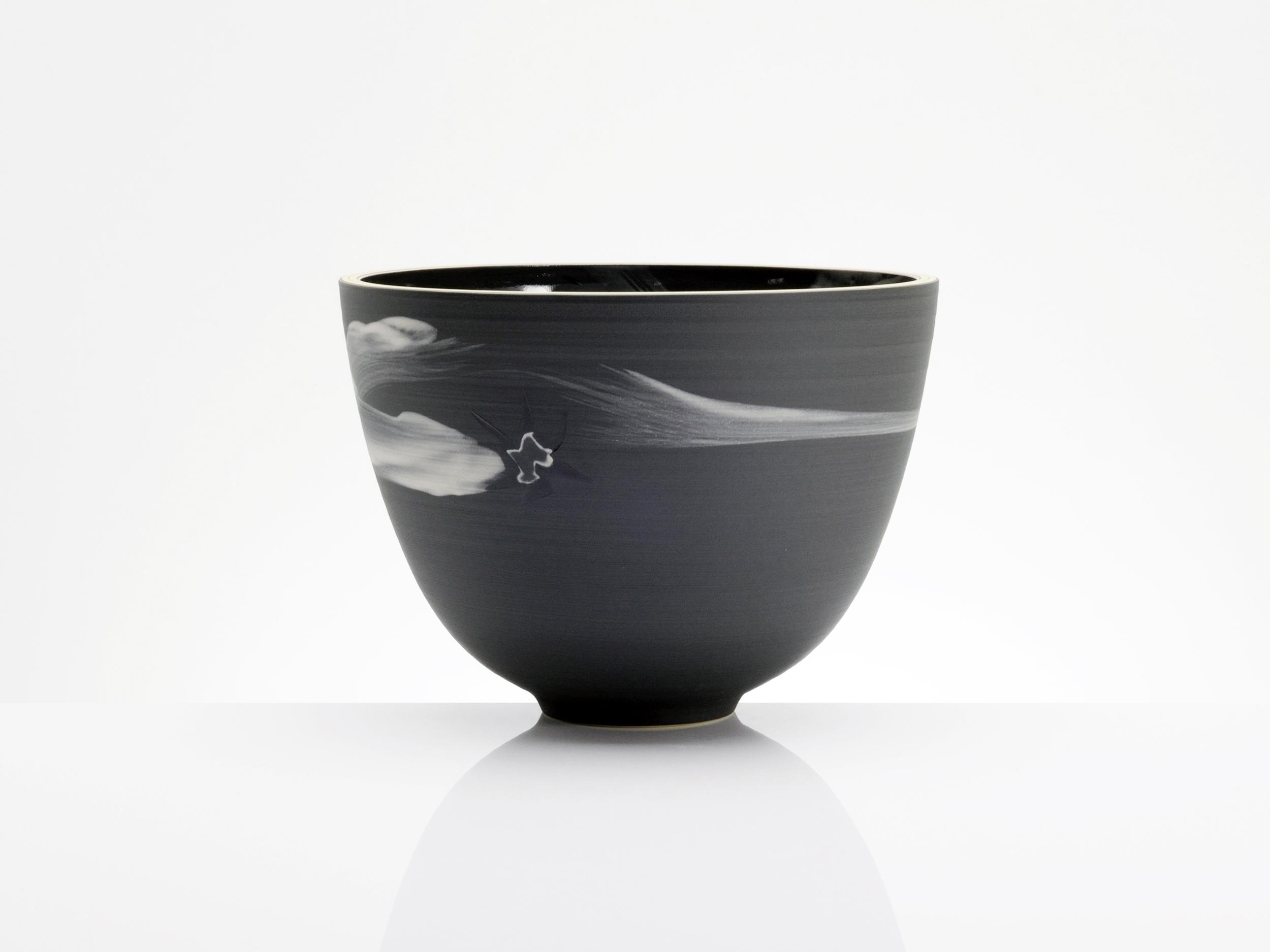 Chinese Star Ceramic Bowl by Rowena Gilbert