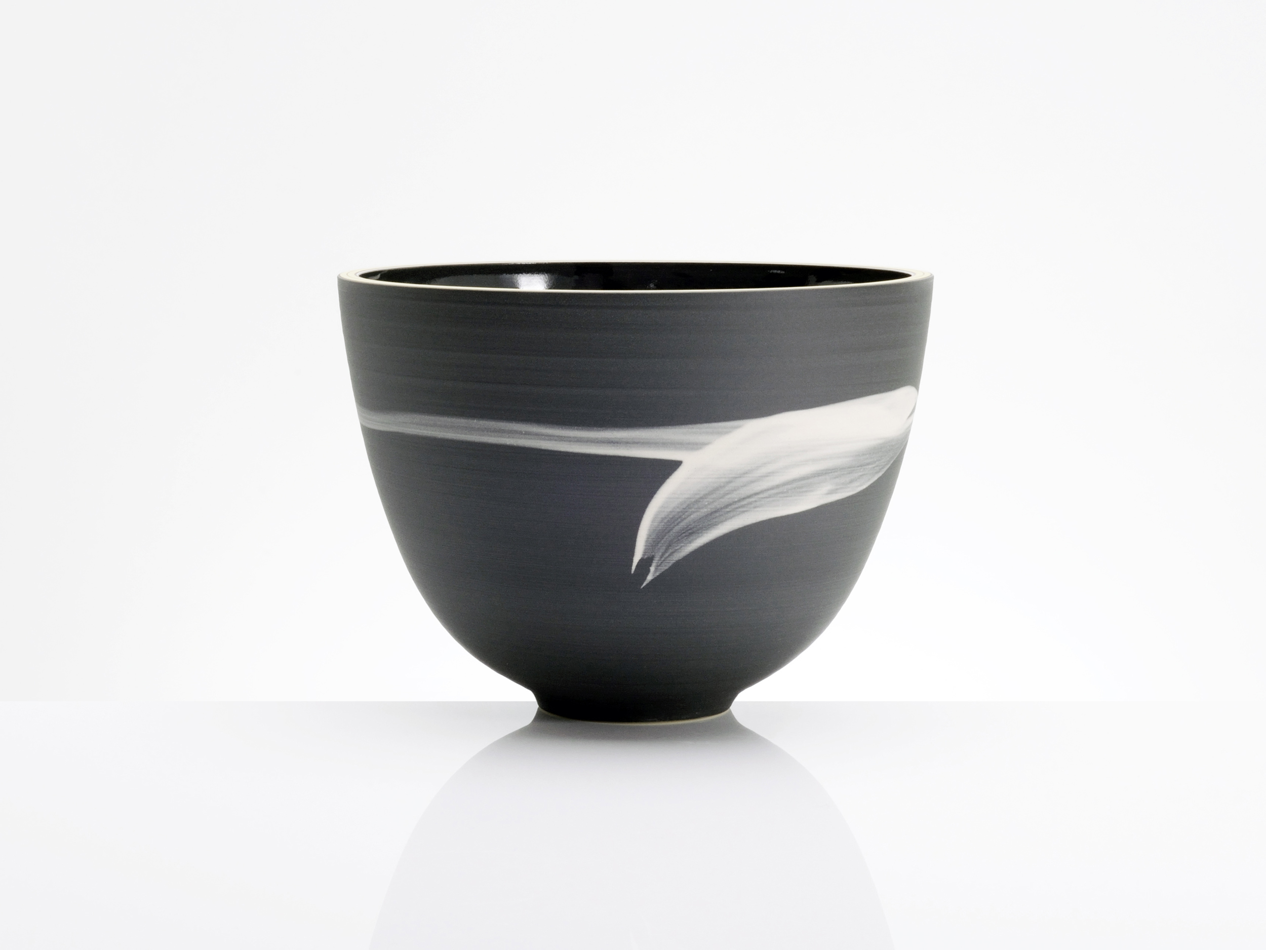 Luxury Harmony Ceramic Bowl by Rowena Gilbert