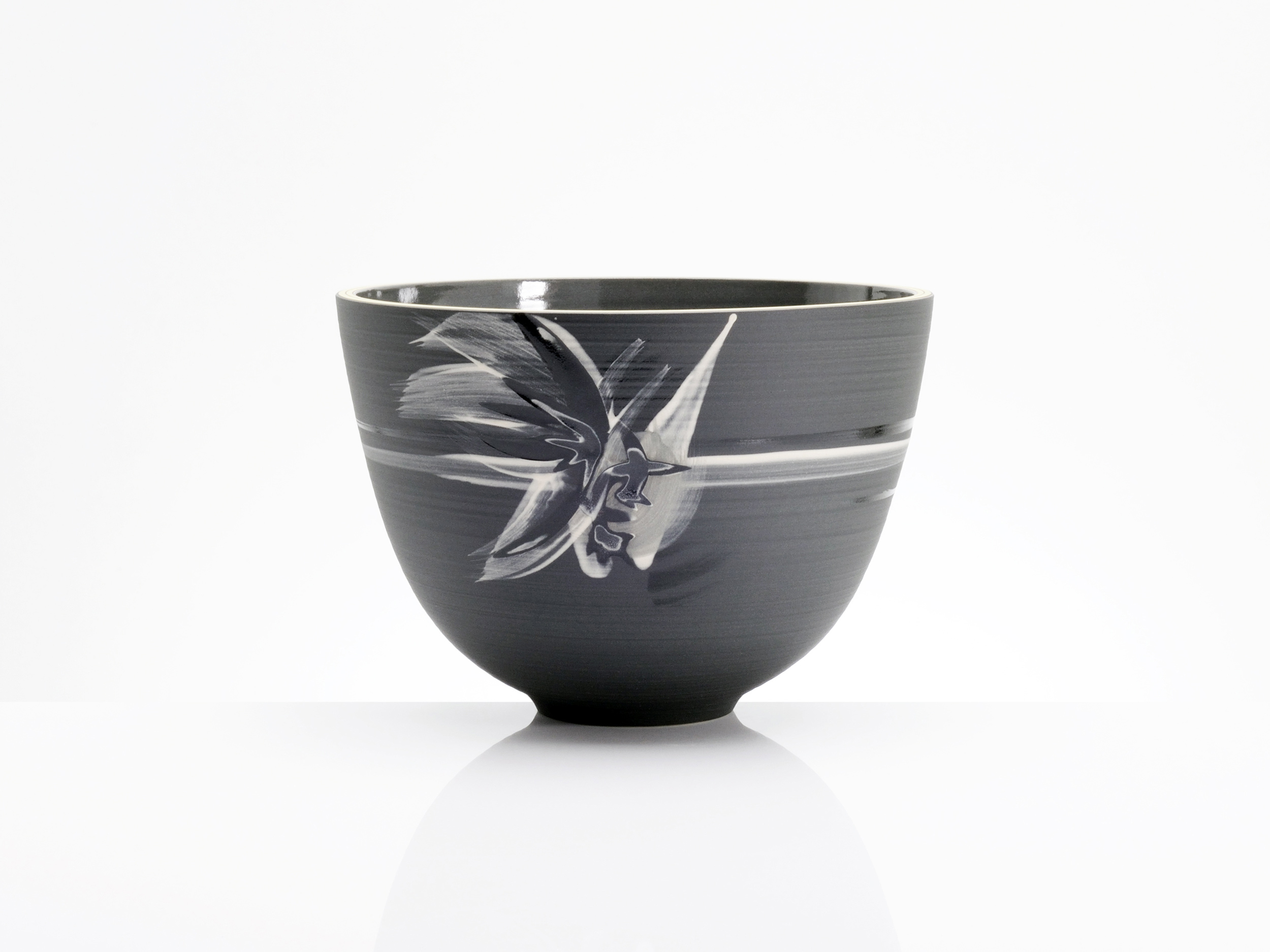 Star Wars Black Ceramic Bowl by Rowena Gilbert