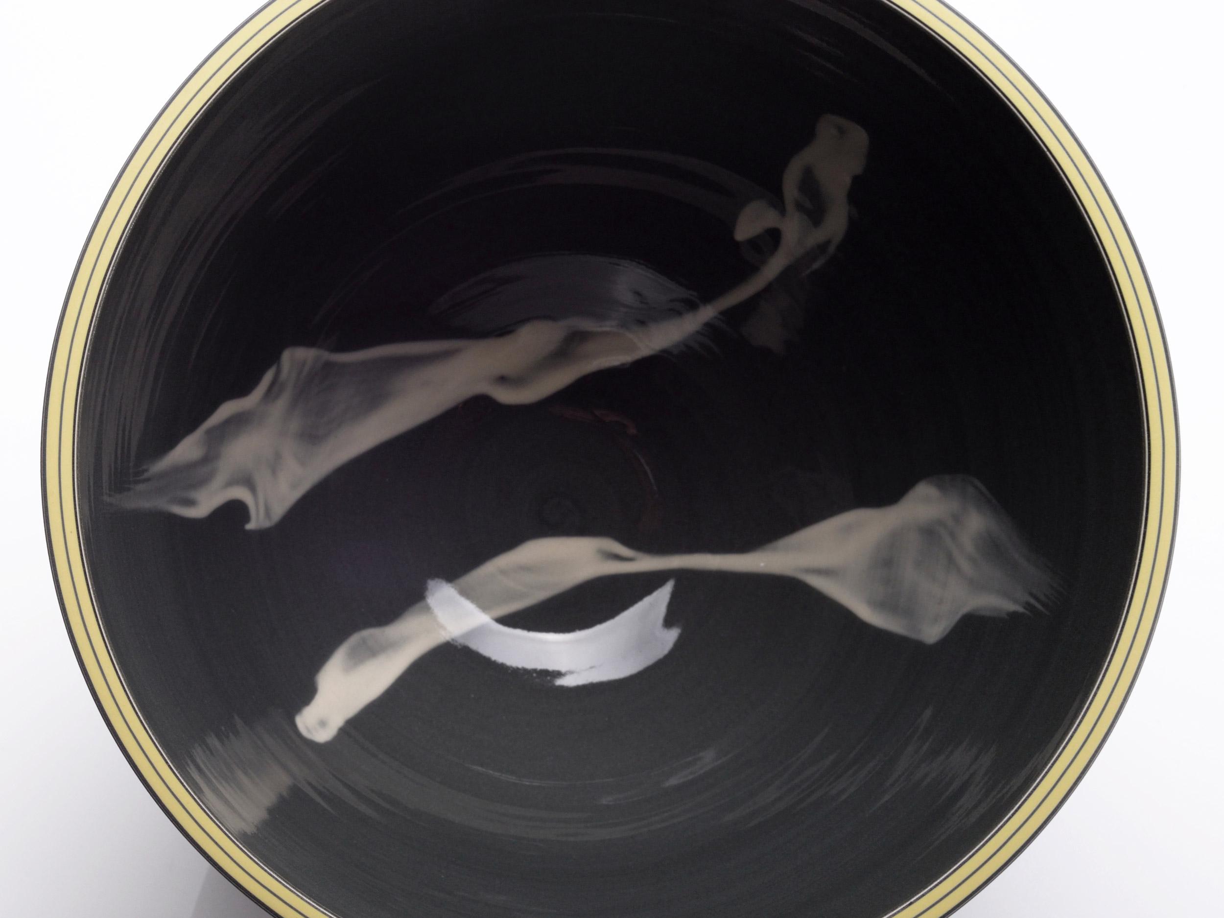 Smoke Dragon Grey Ceramic Design by Rowena Gilbert