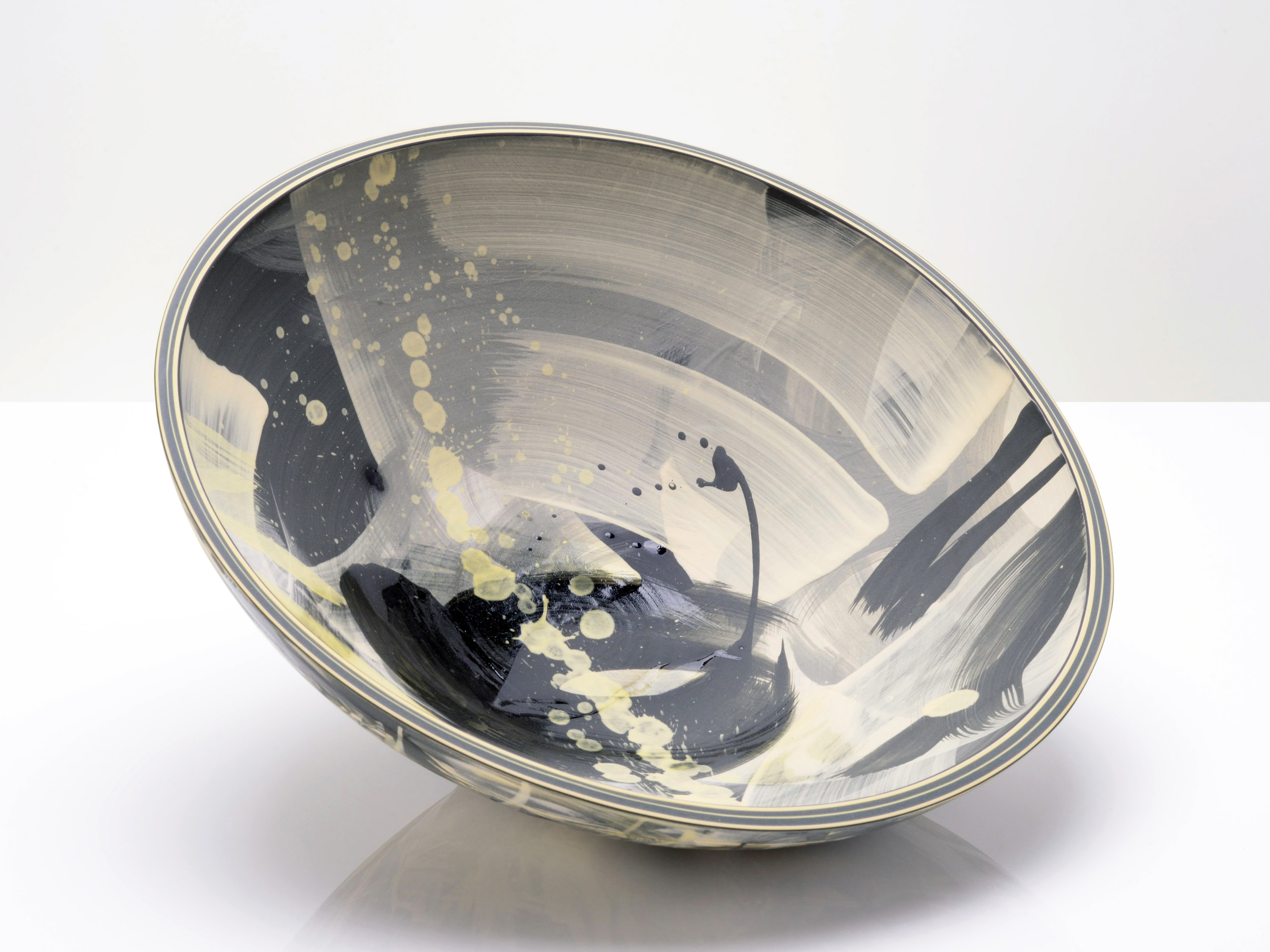 Above the Stars Bowl by Rowena Gilbert