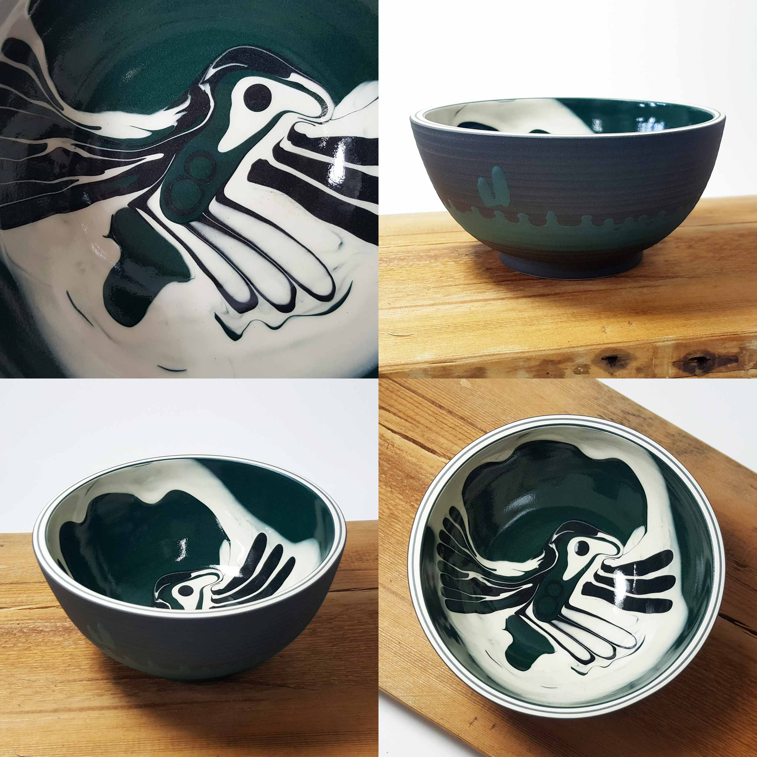 """New Collection of """"Woodland Wonders"""" Ceramics on Show at:   Cameron Contemporary Art  Open Every Day Except Tuesdays 1 Victoria Grove, Second Avenue Hove, East Sussex BN3 2LJ   www.cameroncontemporaryart.com"""
