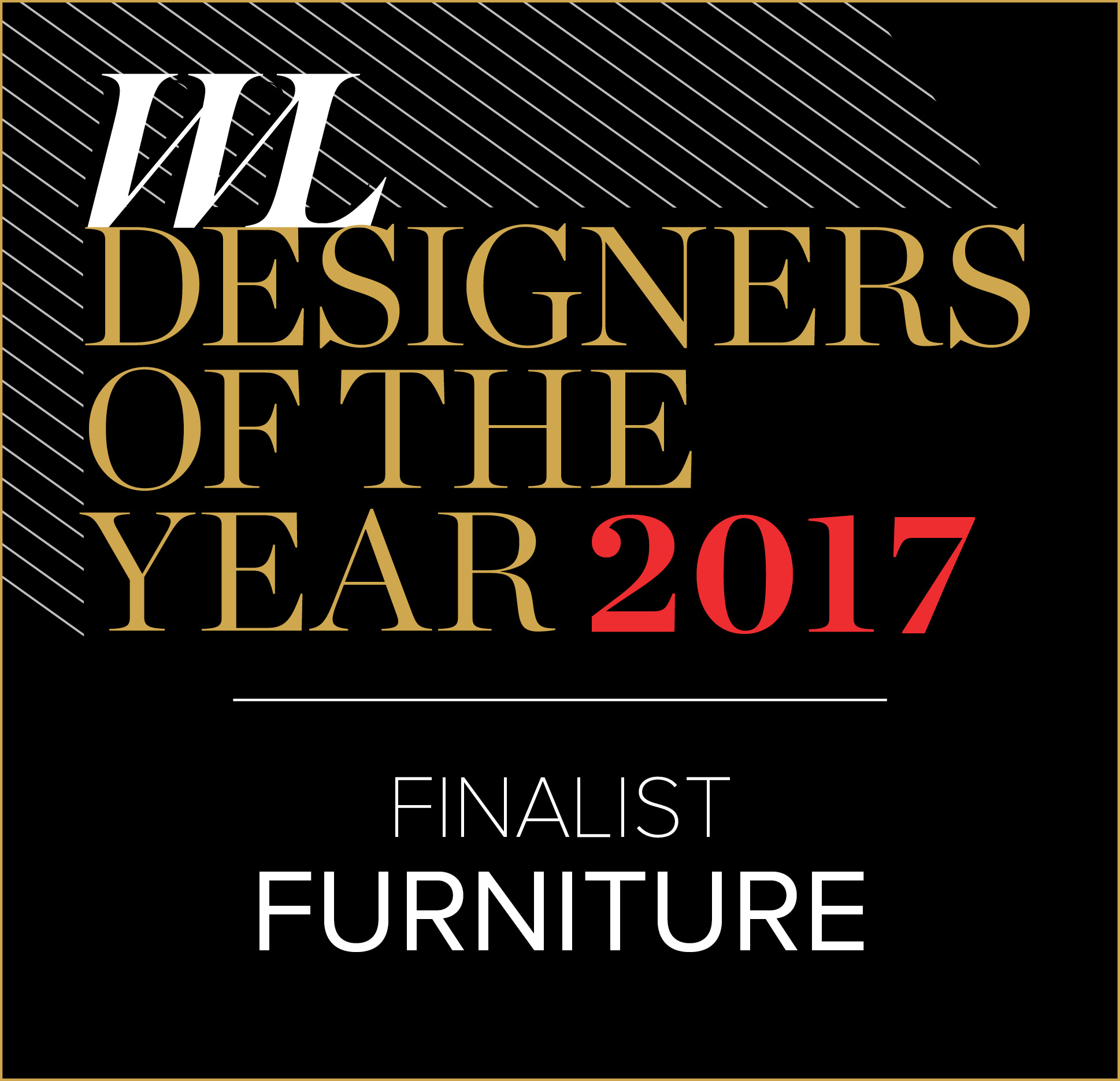 Western Living furniture designer of the year finalist 2017