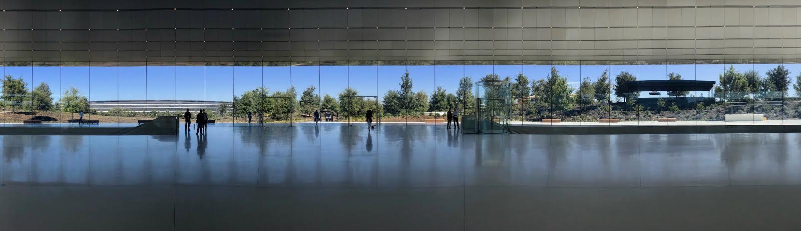 Steve Jobs Theatre Panorama