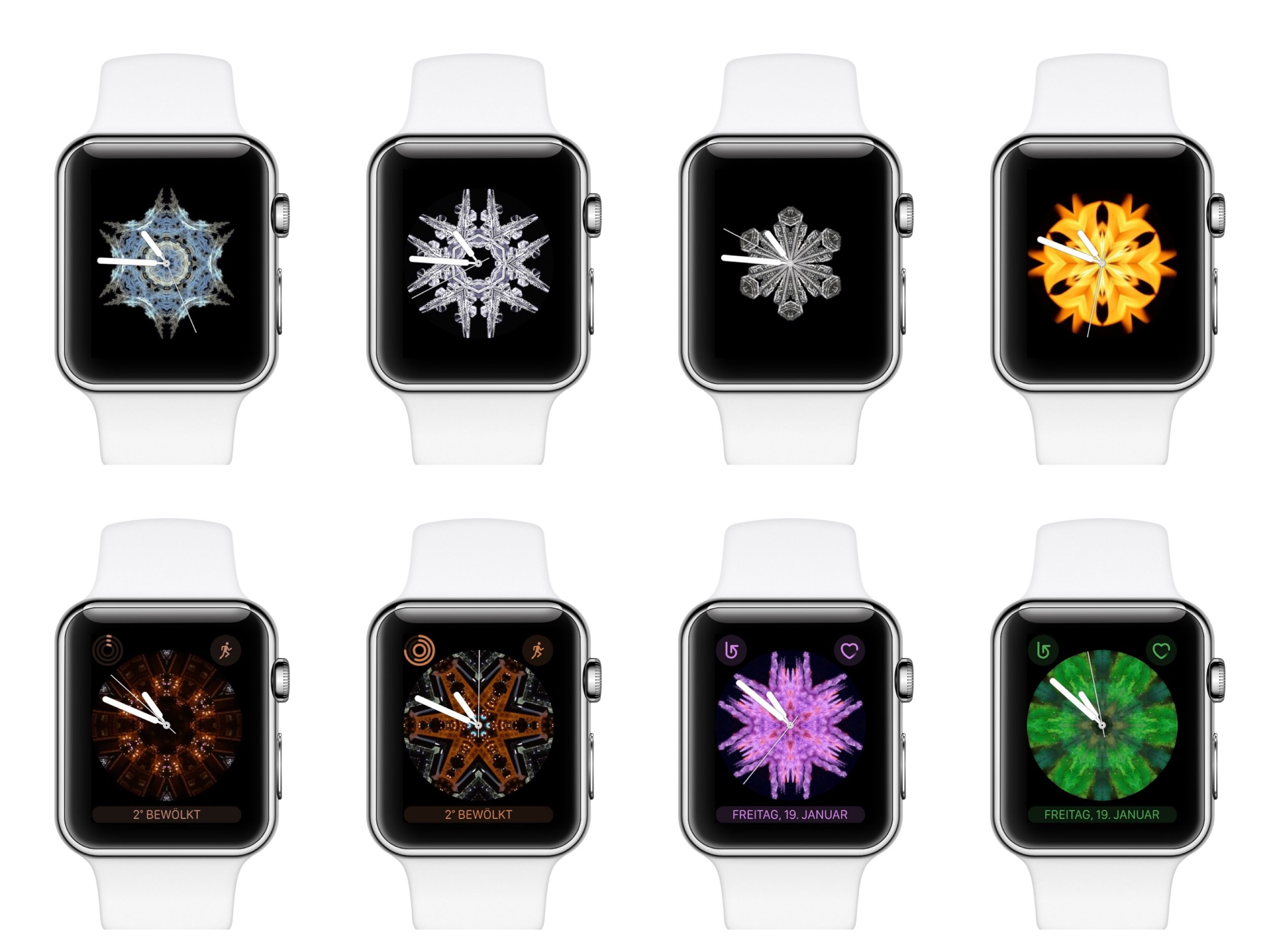kaleidoscope watch faces for apple watch