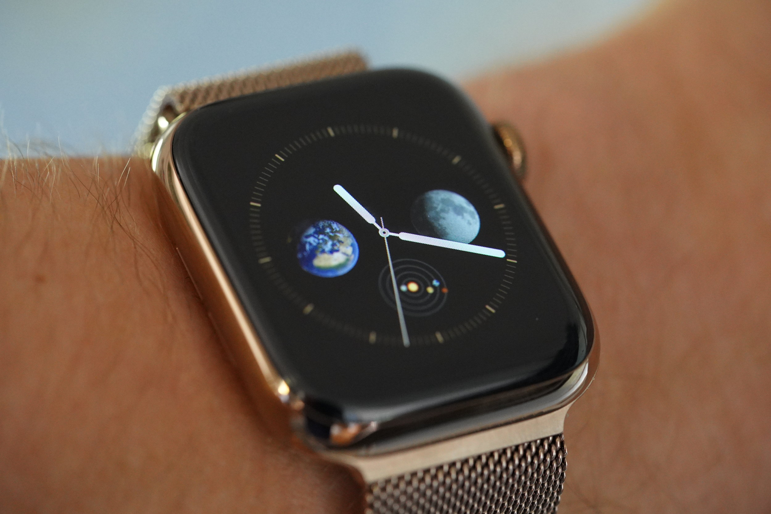 Apple Watch Series 4 Gold Planetary Chronograph