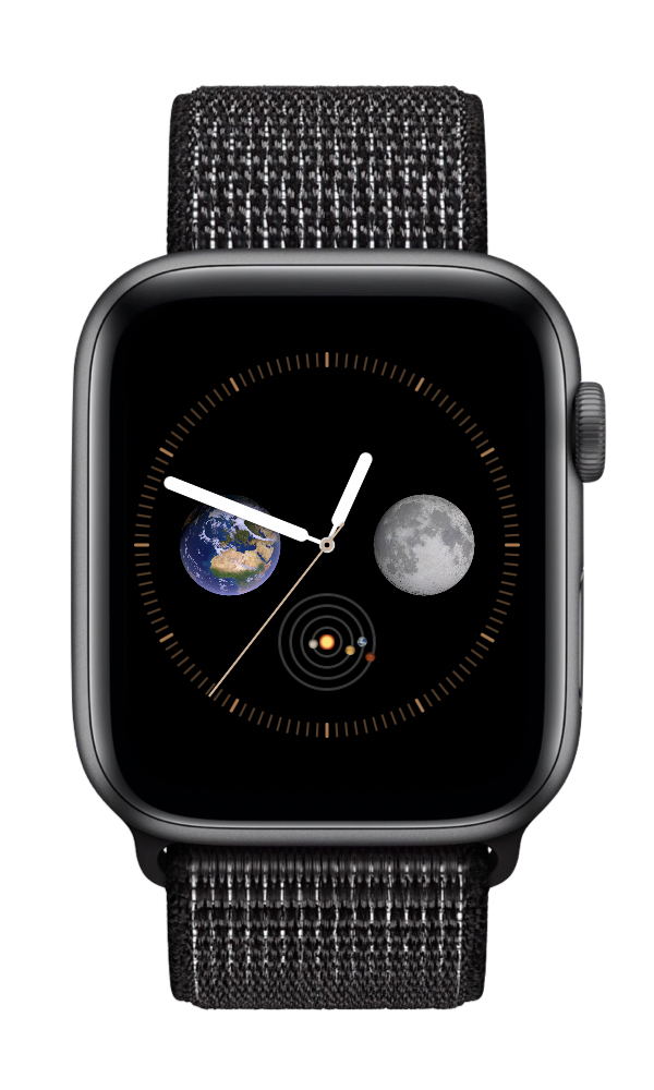 How says an Infograph watch face has to be busy? I love this simple astronomy watch face. I use it all the time.