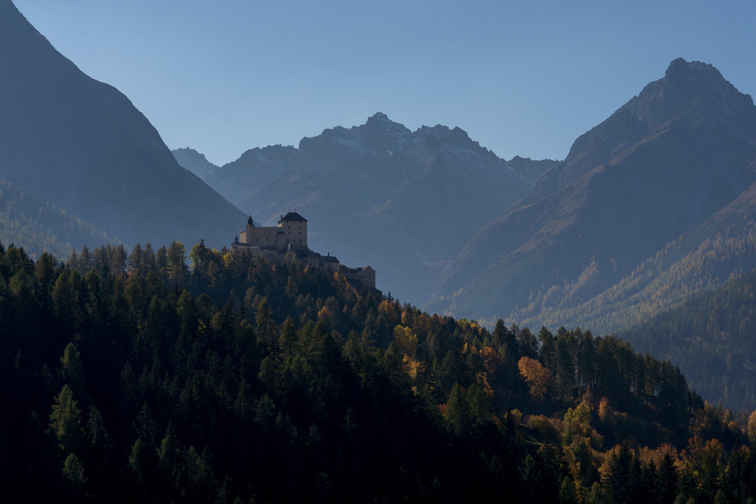 castle schloss tarasp rafael zeier