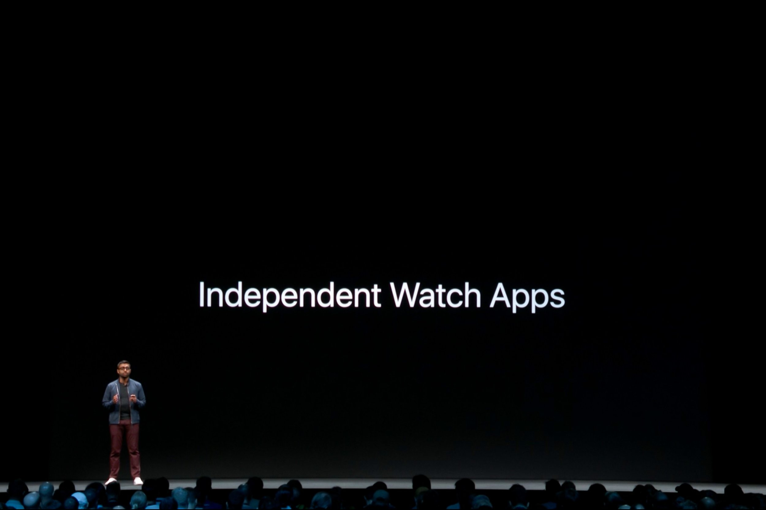 More details about independent watch apps. Screenshot: Apple
