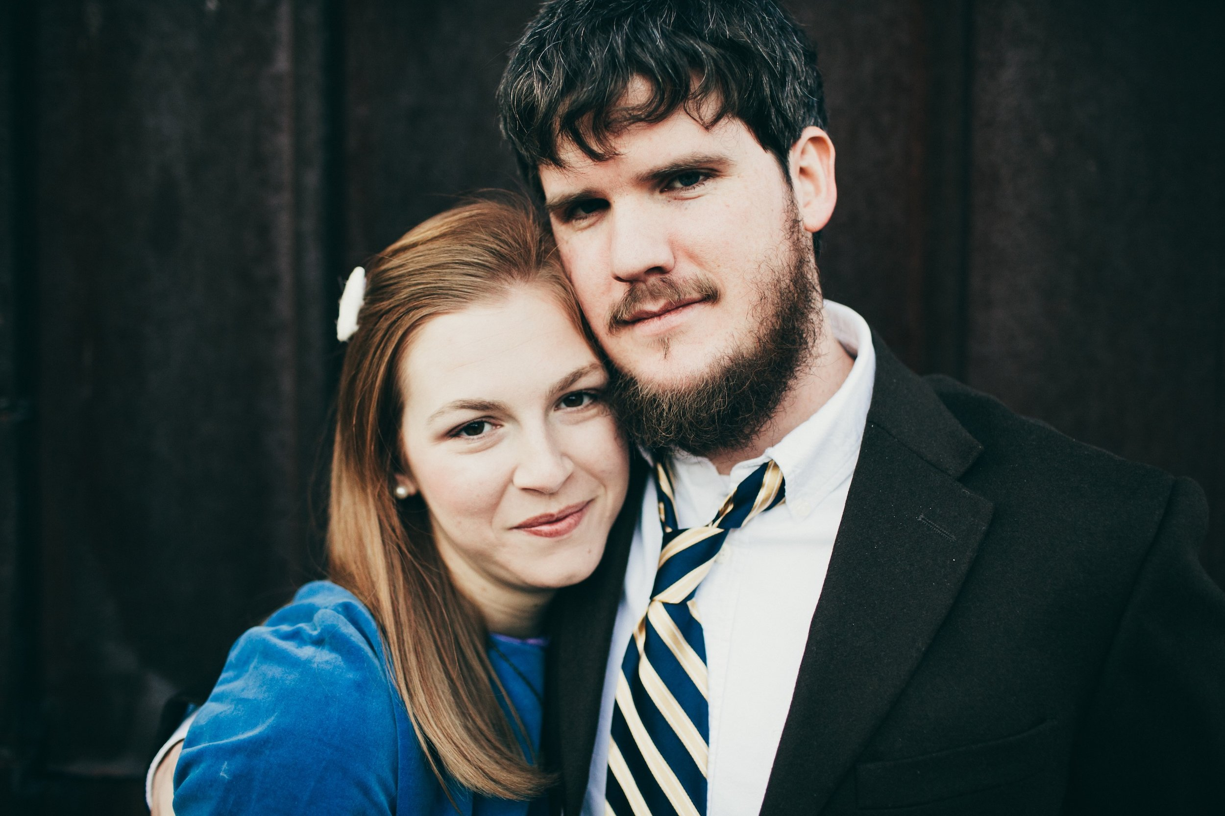 My lovely wife and I.       Photo by Scotty Perry