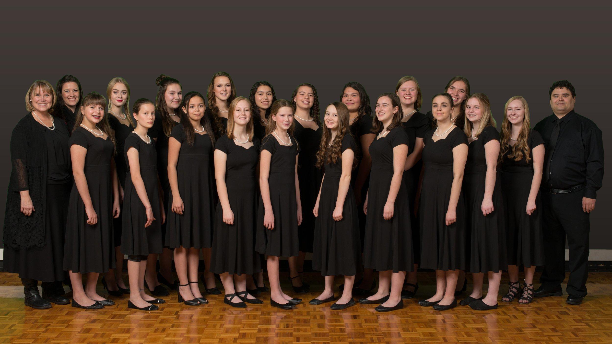 Cardston Girls Choir_Bourse Voyage en groupe_Fondation Tourisme Jeunesse