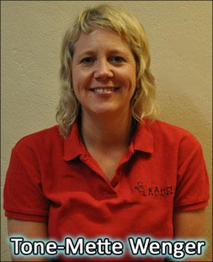 Tone-Mette Wenger - FysioterapeutSpesialist i psykomotorisk fysioterapiTone-Mette@raaholtfysioterapi.noTelefon: 63 95 15 19Mobil: 905 62 272