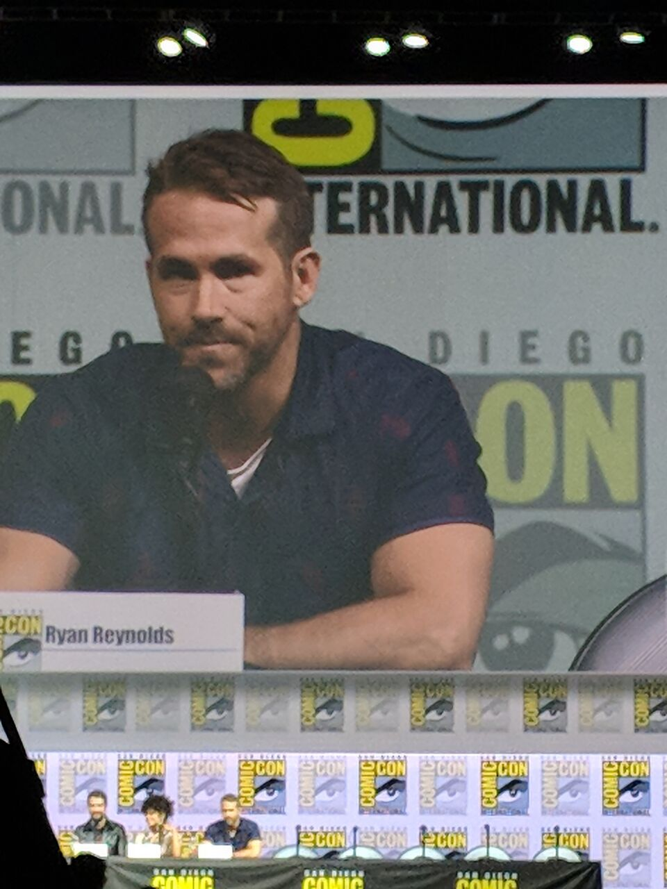 RYAN REYNOLDS  Deadpool  panel