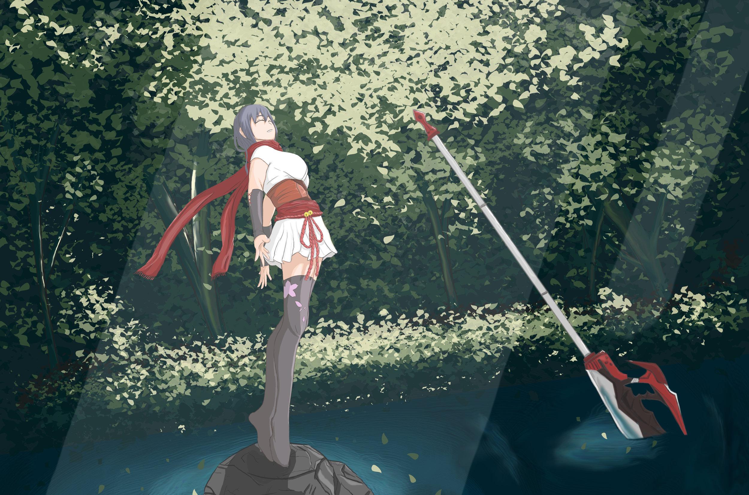 Flower Girl by Ricky Wu