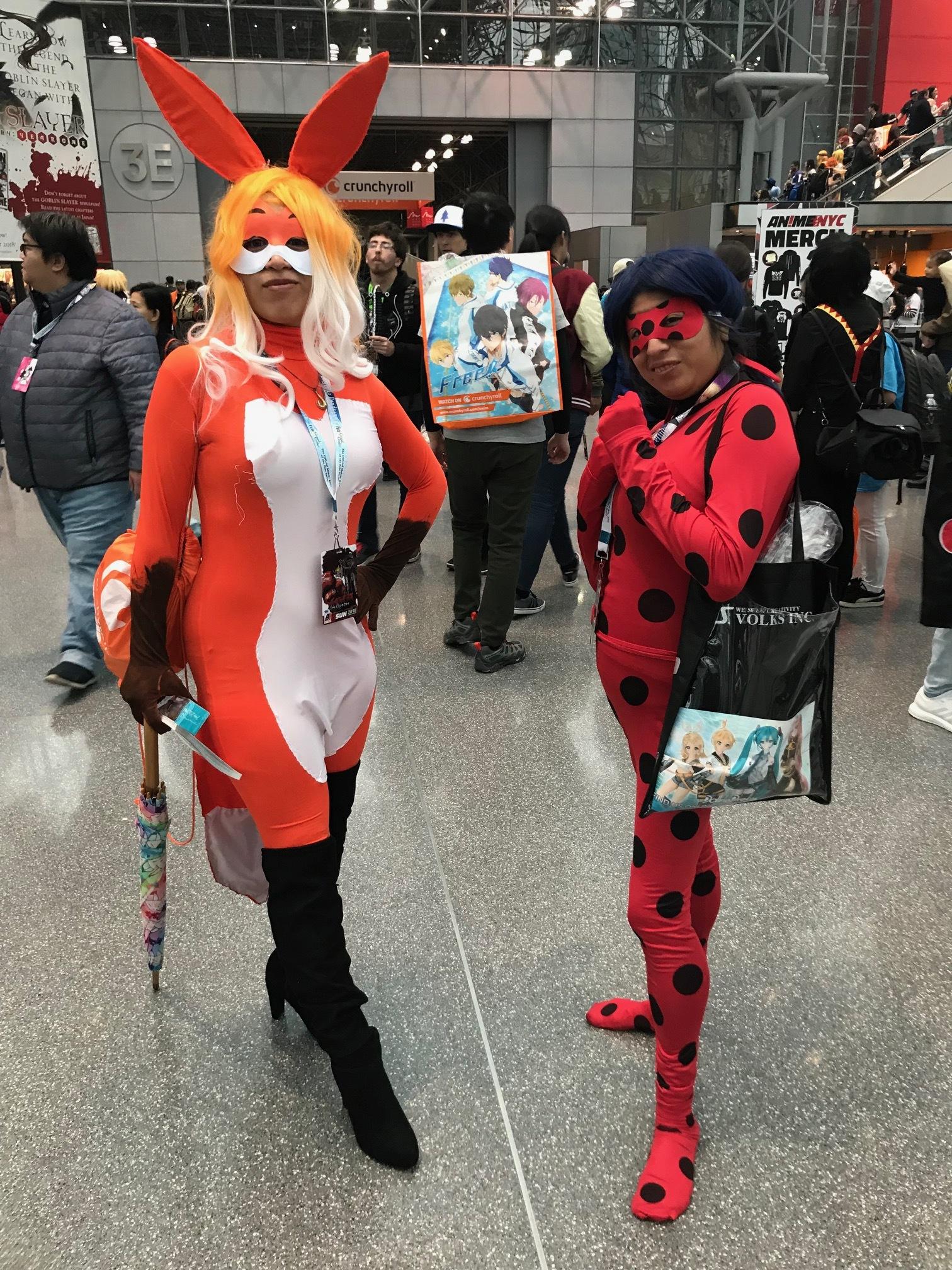 Rena Rogue aka Adriana Tumblr: @chibiana26 and Ladybug aka Minnie Facebook: Minnie Gaytan