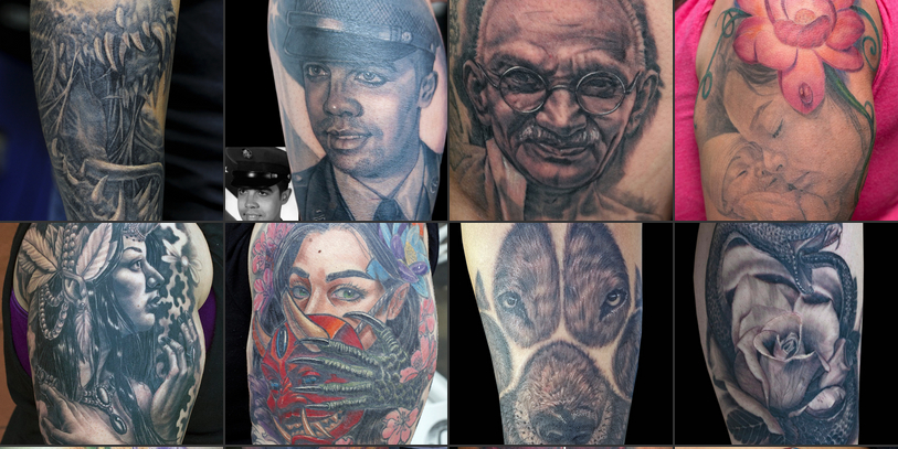 Some of the extremely detailed and eye-catching tattoos created by Ivan Estevez