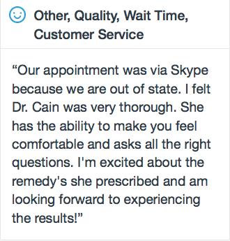 Skype Testimonial Dr. Cain Naturopathic Treatments for Bipolar Disorder