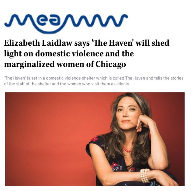 On the day of our world premiere on @weareotv we wanted to share this great interview with @meawwofficial and our co-producer and co-star @elizabethlaidlaw who plays Meredith in #thehavenwebseries as well as Vic Renna on @theredlinecbs.  Check it out at https://meaww.com/the-haven-domestic-violence-elizabeth-laidlaw-chicago-representation-trans-femme-shelter and if you are in Chicago, join us for the premiere tonight 5/8 at @reunionchi starting at 6pm, by getting tickets at Eventbrite - http://tiny.cc/ri0d6y * 📸 by @brave.lux  #womeninfilm #femmefilmmakers #womenfilmmakers #chicagofilmmakers #webseries #weareotv #reunionchicago #domesticviolence