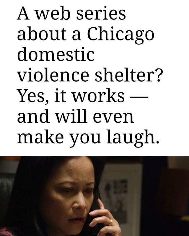 Great article in the @chicagotribune about #thehavenweb which premiered yesterday on @weareotv . Go to www.weareo.tv to see The Haven and so many other great shows.  #weareotv #intersectionalart #womeninfilm #womeninfilmchicago #domesticviolence #domesticabuse #bethechange