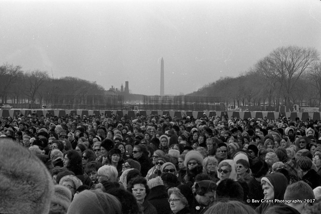 Jeanette Rankin Brigade March on Washington, Jan. 15, 1968